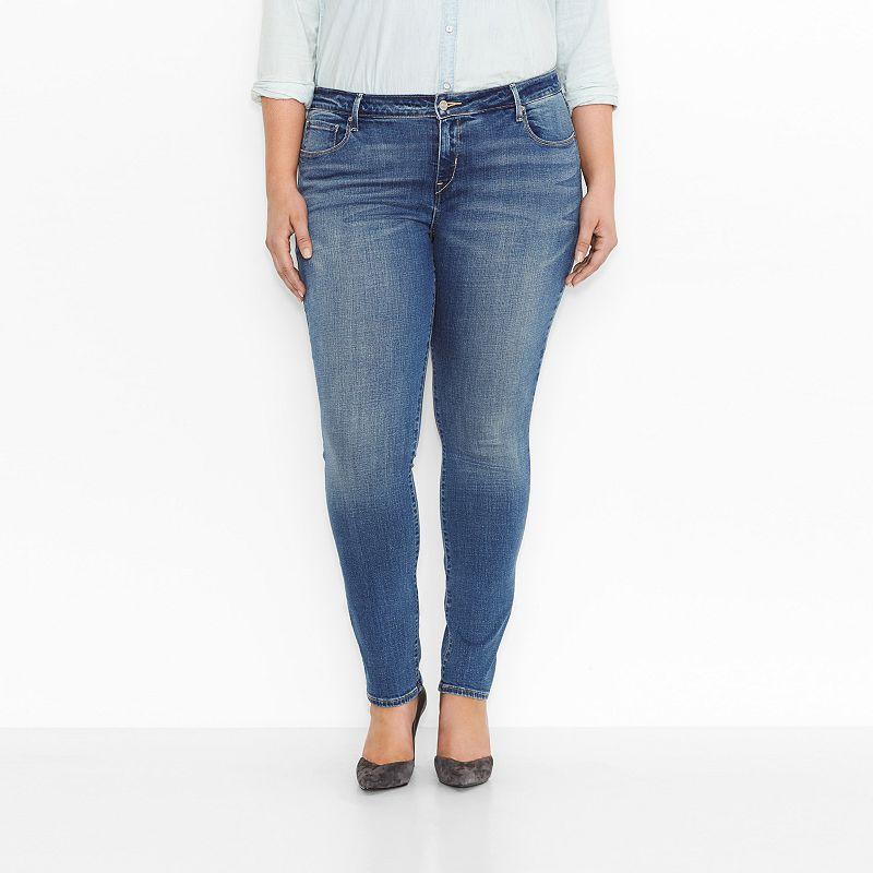 Plus Size Levi's Mid Rise Skinny Jeans