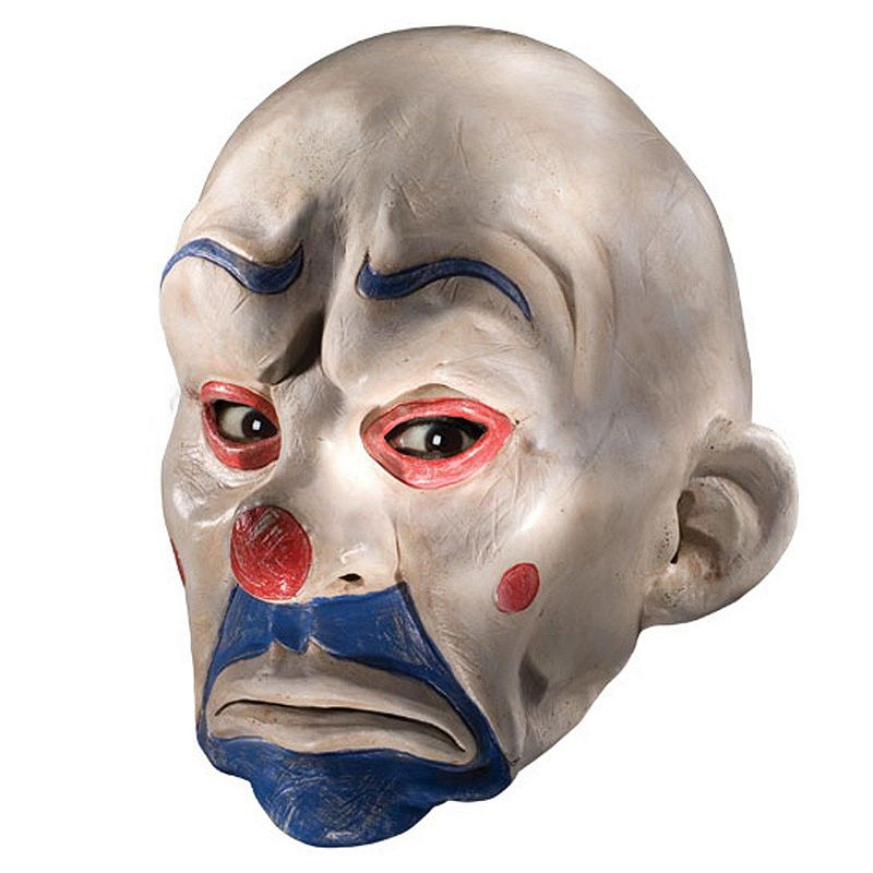 Batman Dark Knight Joker Clown Mask - Adult