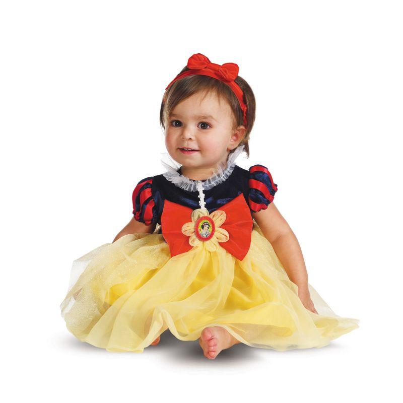 Disney Princess Snow White Costume - Baby (Snow White/Red/Yellow)