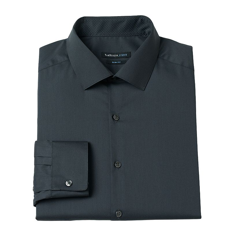 Men's Van Heusen Slim-Fit Solid Dress Shirt