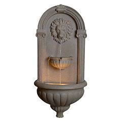 Regal Wall Fountain  by