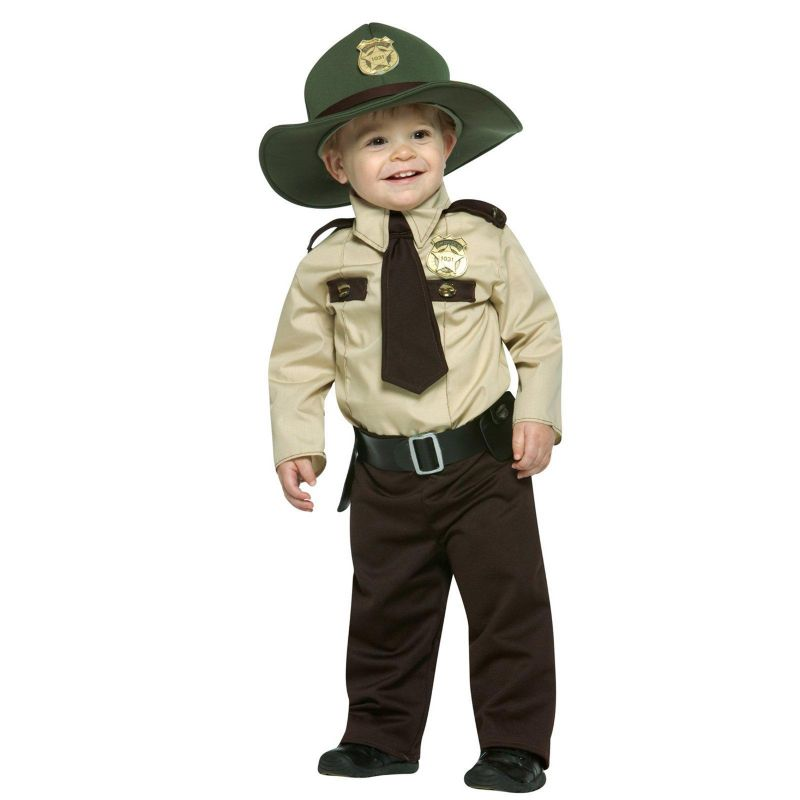Future Trooper Costume - Baby (Brown)