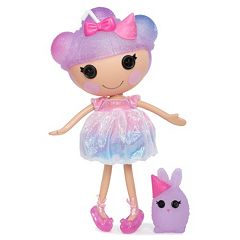 Lalaloopsy Frost I.C. Cone Doll & Pet Bunny Playset  by