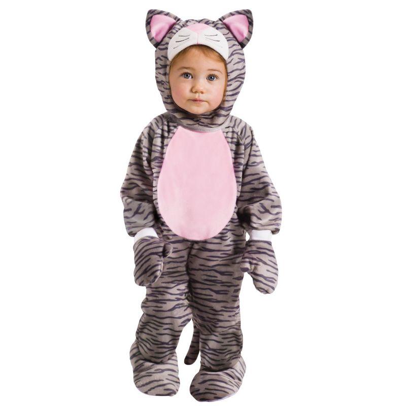 Hooded Kitten Costume - Baby (Pink)