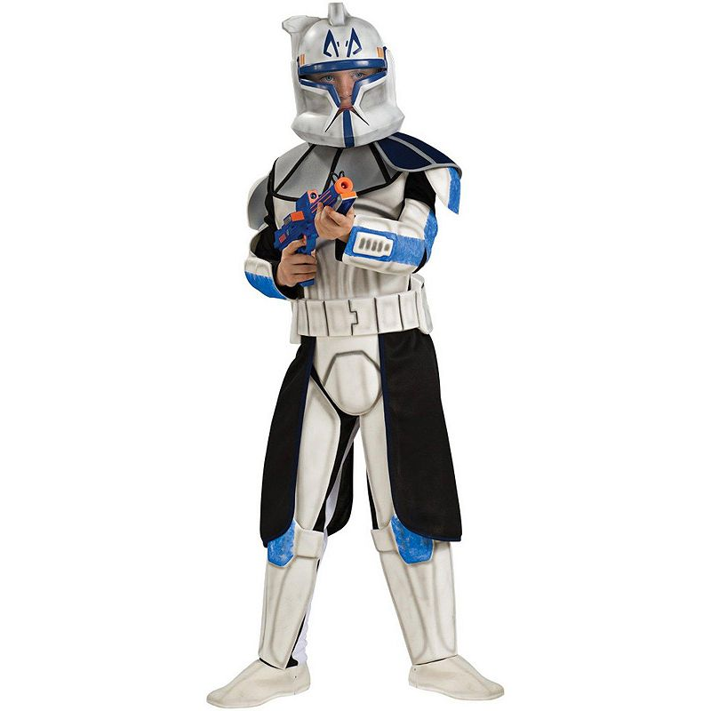 Star Wars Animated Deluxe Clone Trooper Leader Rex Costume - Kids