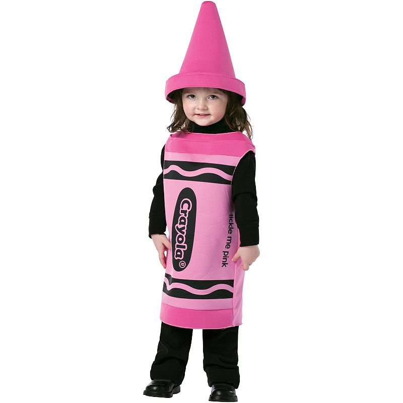 Crayola Tickle Me Pink Crayon Costume - Toddler