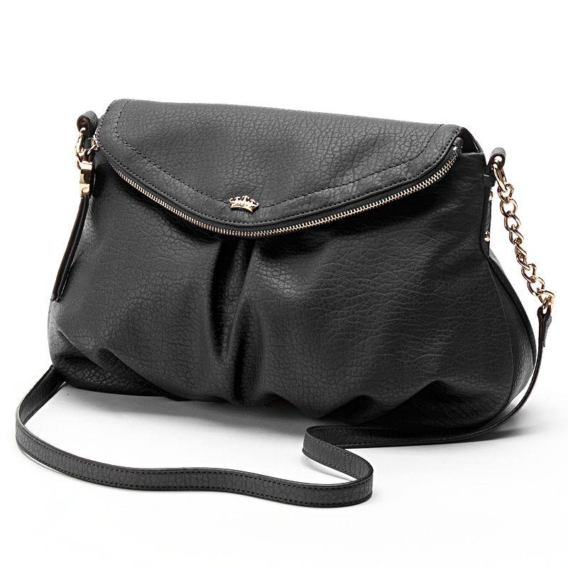 Juicy Couture Traveler Flap Crossbody Bag