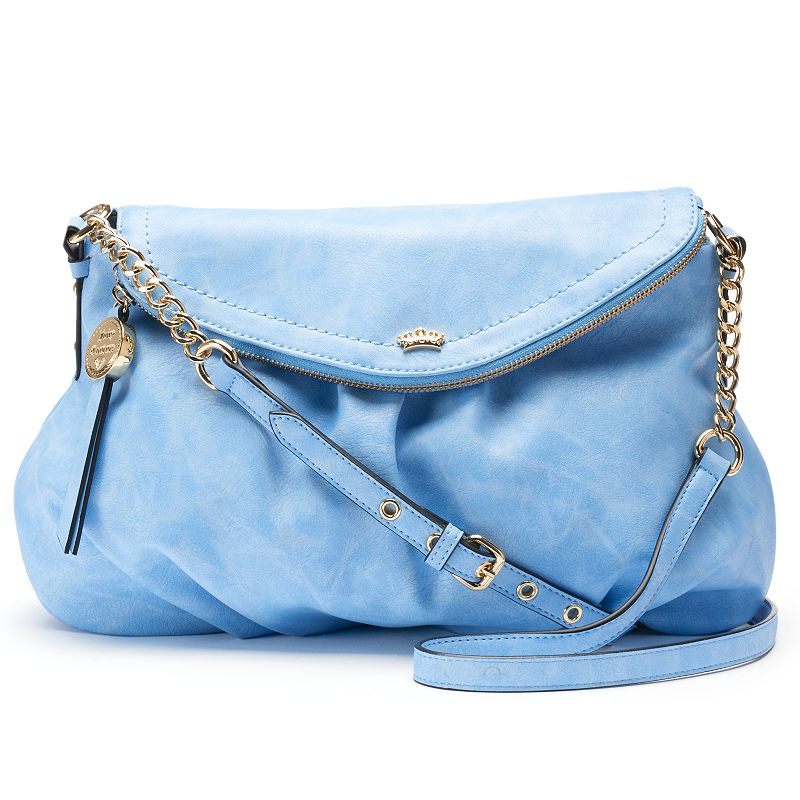 Juicy Couture Traveler Flap Crossbody Bag, Women's, Med Blue