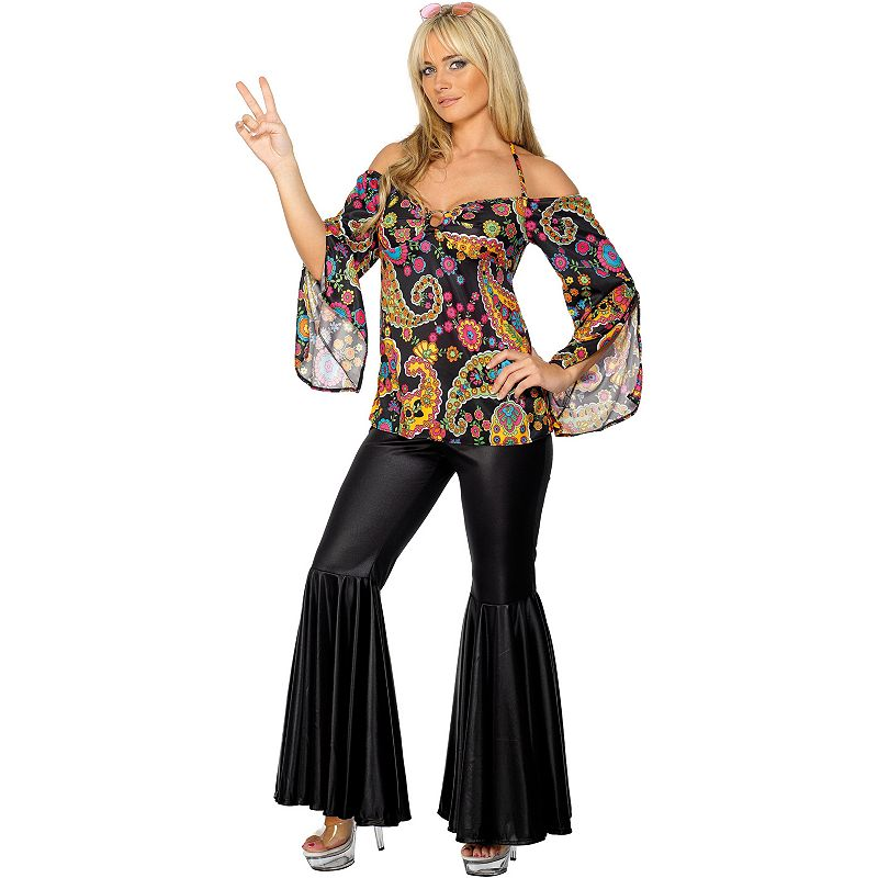 Hippie Costume - Adult Plus