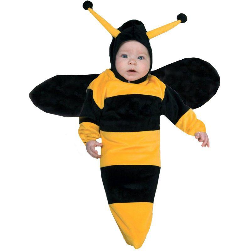 Bumble Bee Bunting Costume - Baby (Black/Yellow)