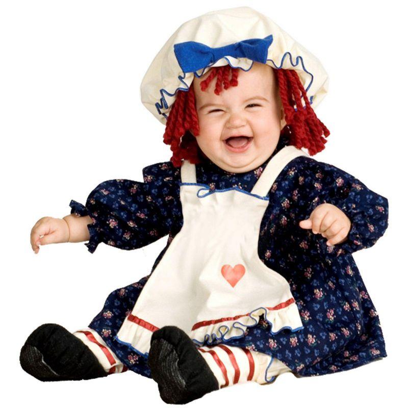 Yarn Babies Ragamuffin Dolly Costume - Baby (Blue)