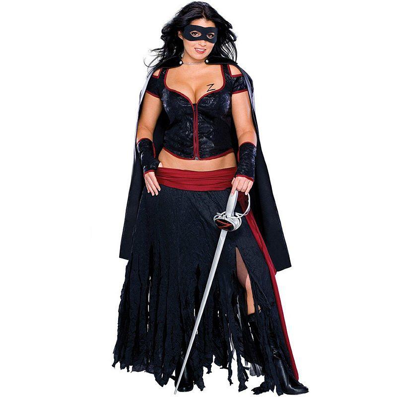 Lady Zorro Costume - Adult Plus