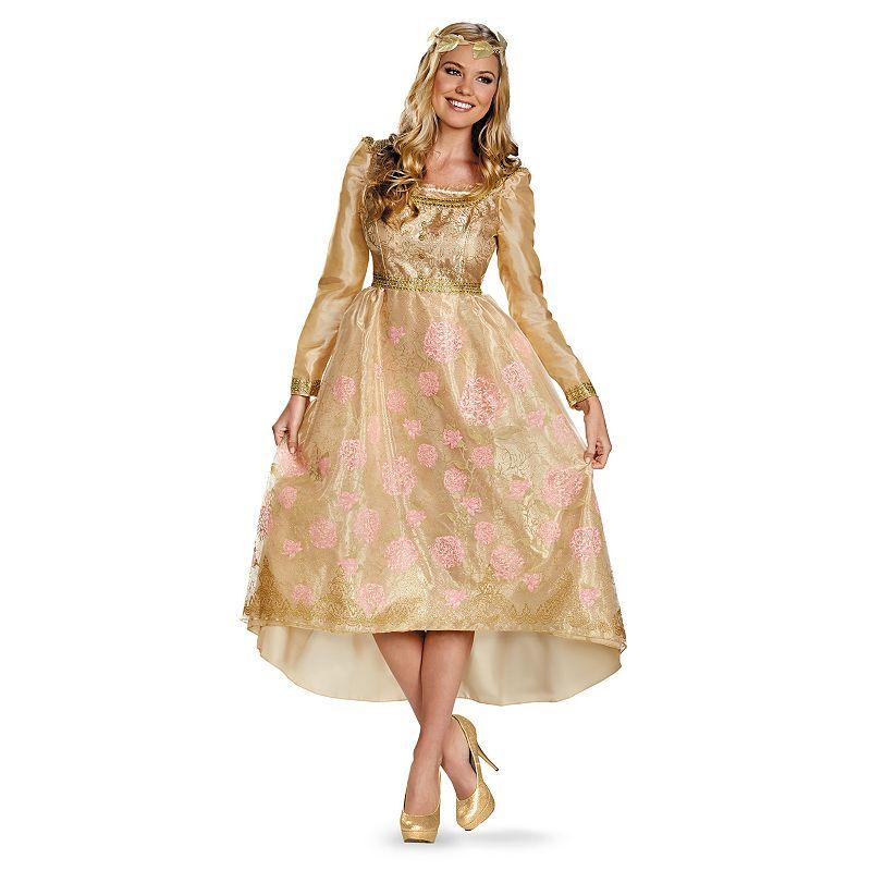 Disney Maleficent Deluxe Aurora Coronation Costume - Adult