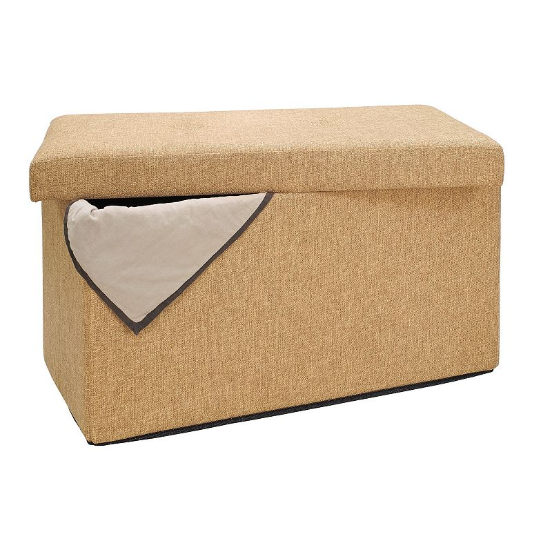 Simplify Folding Storage Ottoman