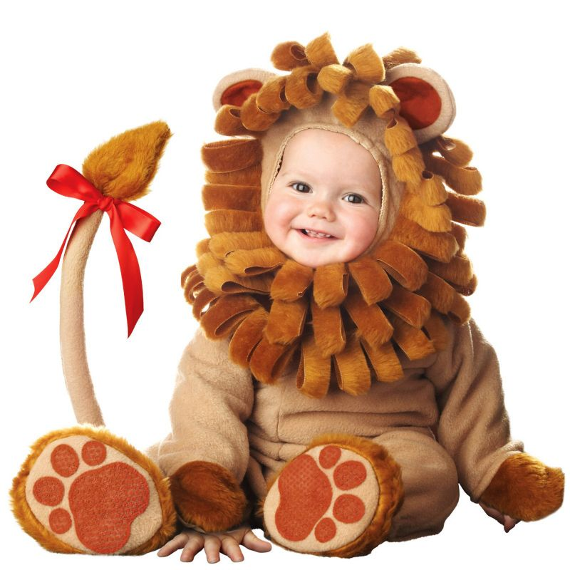 Lil' Lion Elite Collection Costume - Baby (Brown)