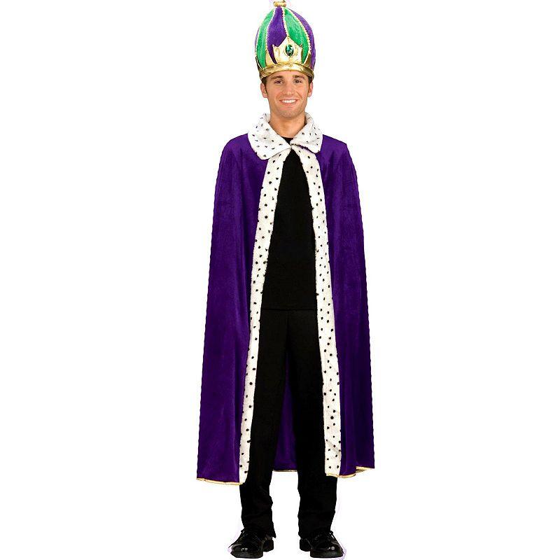 Mardi Gras King Costume - Adult