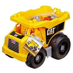 CAT First Builders Dump Truck Set by Mega Bloks by