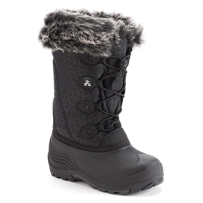 Girls Black Winter Boots | Kohl's