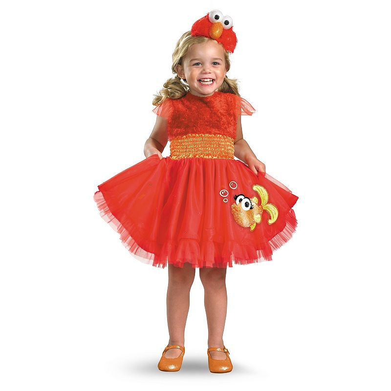 Sesame Street Elmo Dress Costume - Toddler
