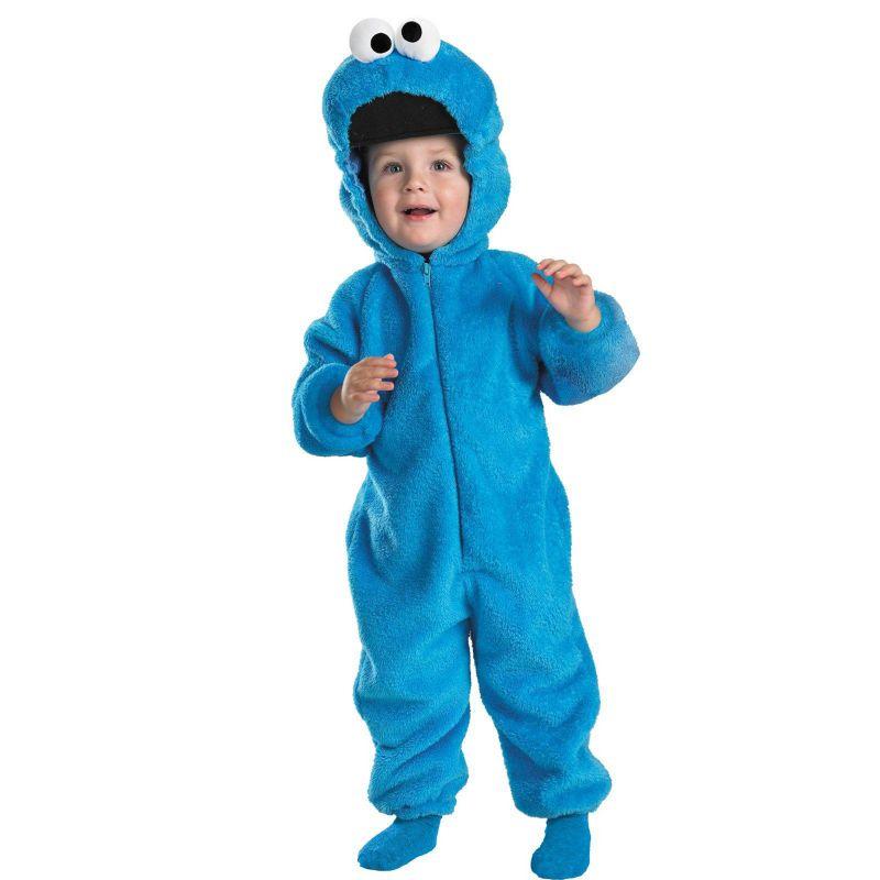 Sesame Street Cookie Monster Costume - Baby (Blue)