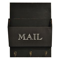 Click here to buy Belle Maison 3-Hook Mail Wall Decor.