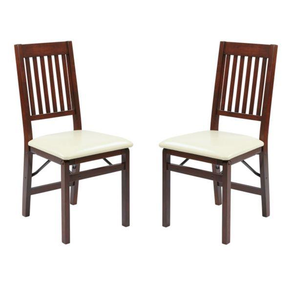 OSP Designs Hacienda 2 pk Folding Chair Set