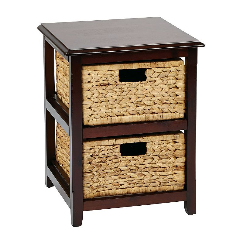 OSP Designs Two-Drawer Storage Cabinet