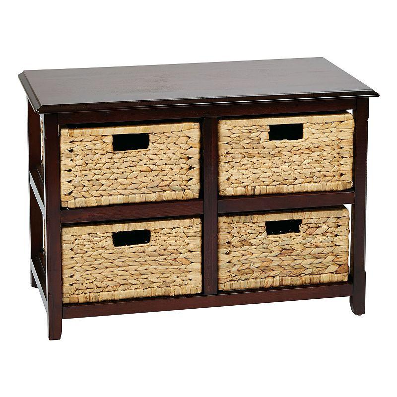 OSP Designs 4-Drawer Storage Cabinet