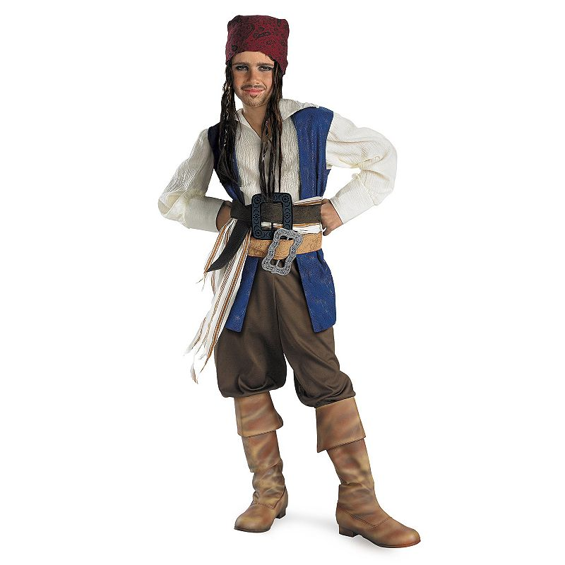 Pirates Of The Caribbean Jack Sparrow Costume - Kids