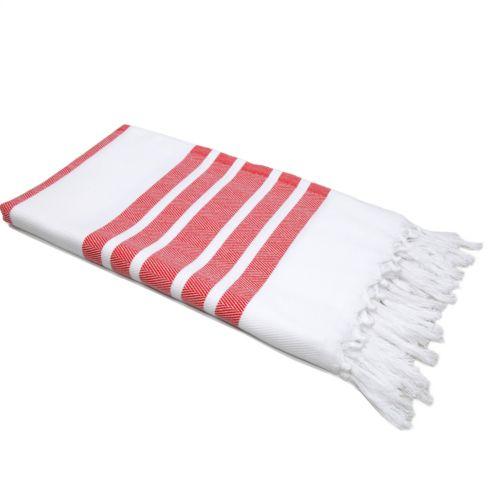 Linum Home Textiles Herringbone Beach Towel