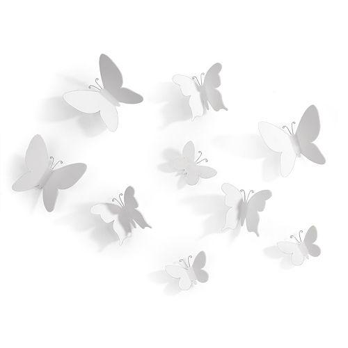 Umbra Wall Decor Butterflies : Umbra butterfly wall decor