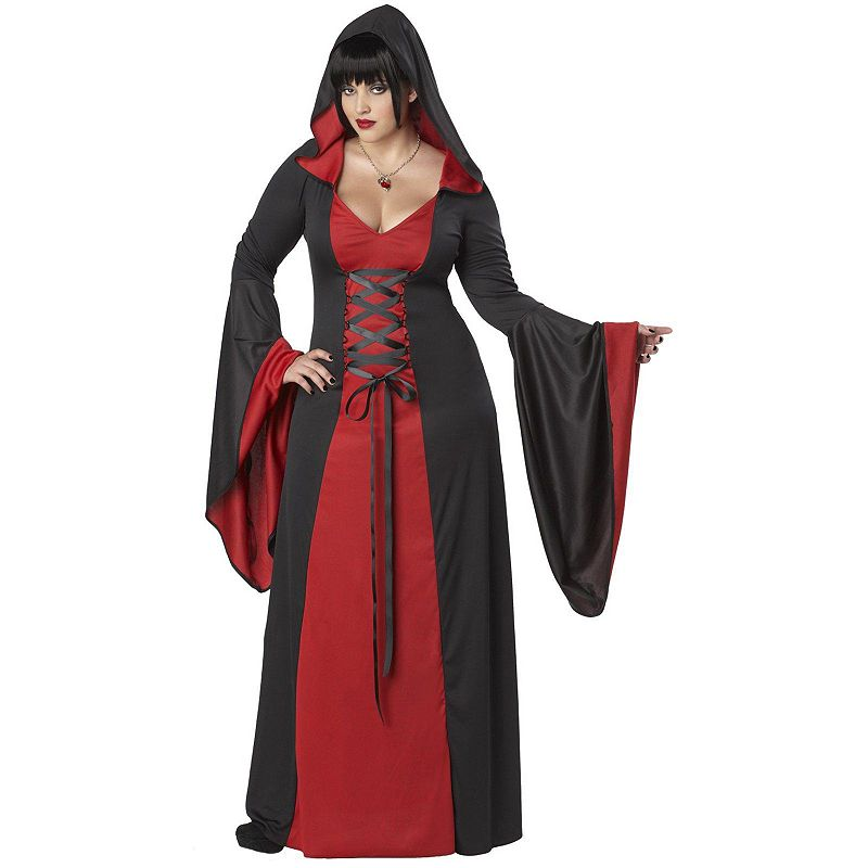 Deluxe Hooded Robe Costume - Adult Plus