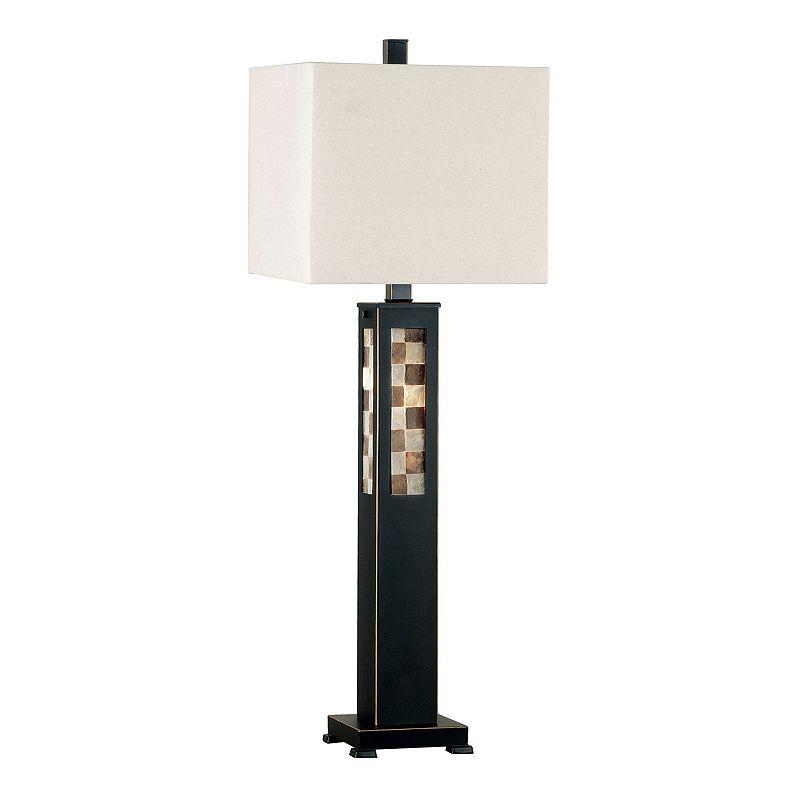 Windowpane Table Lamp