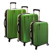 Traveler's Choice Rochester Hardside Spinner Luggage