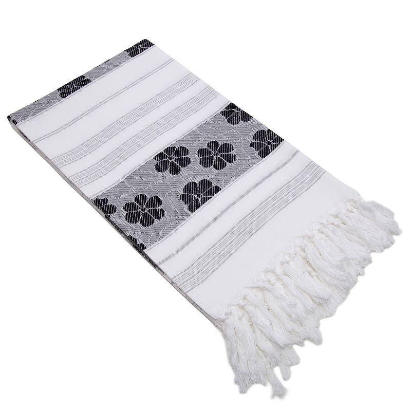 Linum Home Textiles Jacquard Beach Towel
