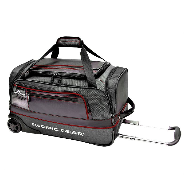Pacific Gear Drop Zone 22-Inch Wheeled Duffel Carry-On