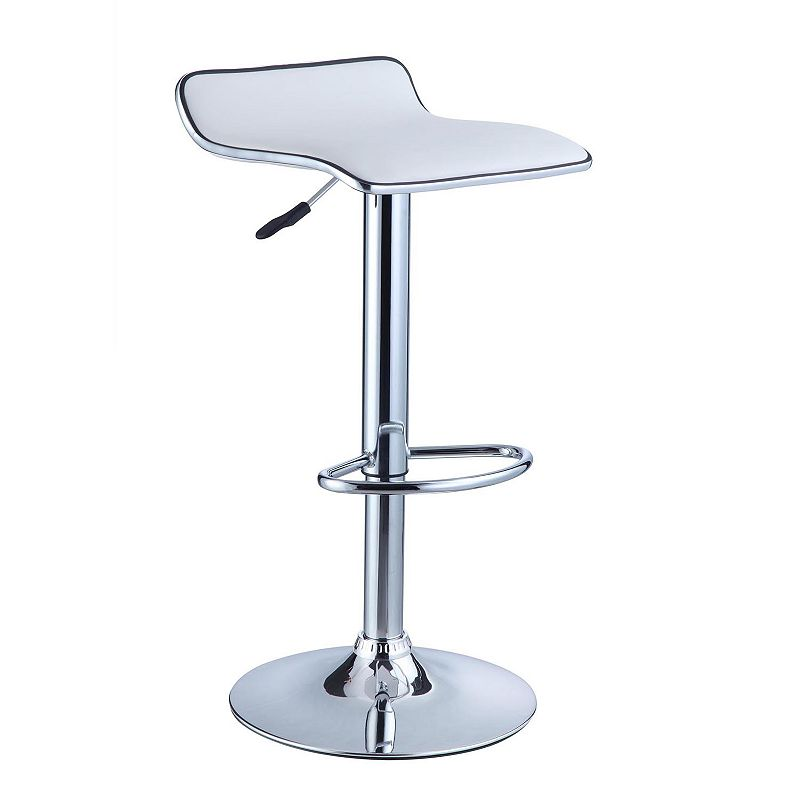 Curved Adjustable Stool