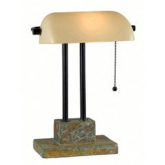 Greenville Banker Lamp by