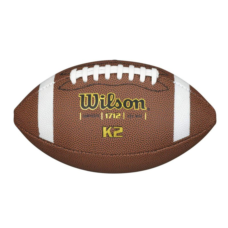 Wilson K2 Composite PeeWee Football, Multicolor thumbnail
