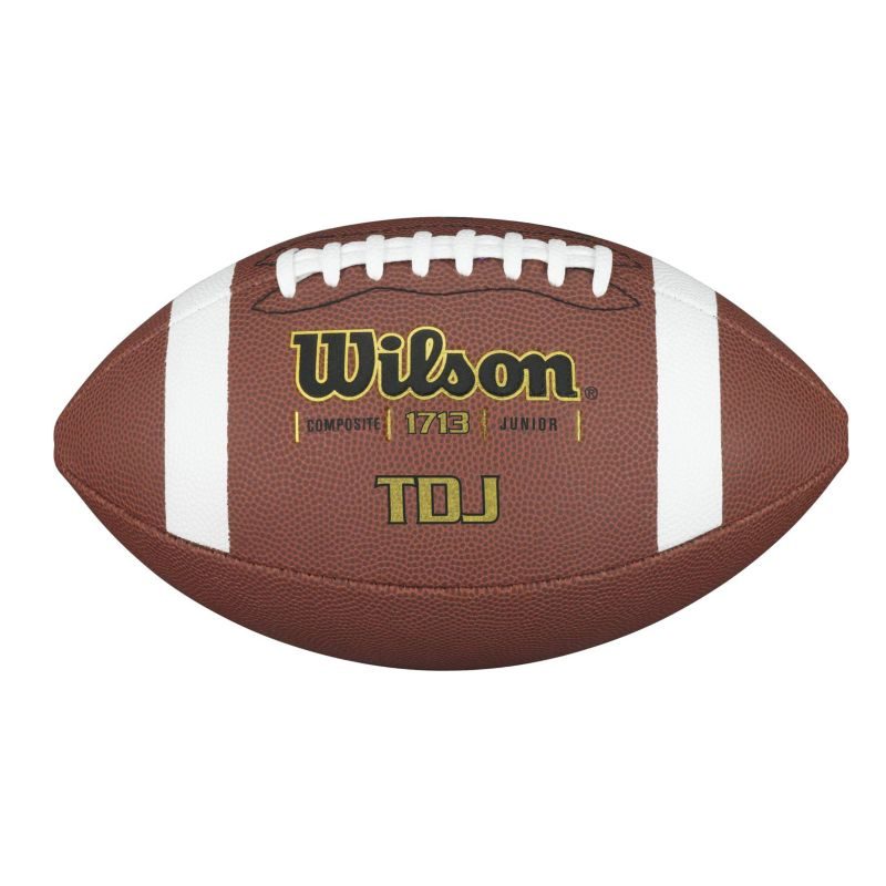 Wilson TDJ Composite Junior Football, Multicolor thumbnail