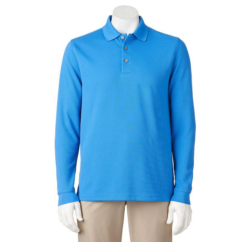 Men's Grand Slam Pebble Golf Polo