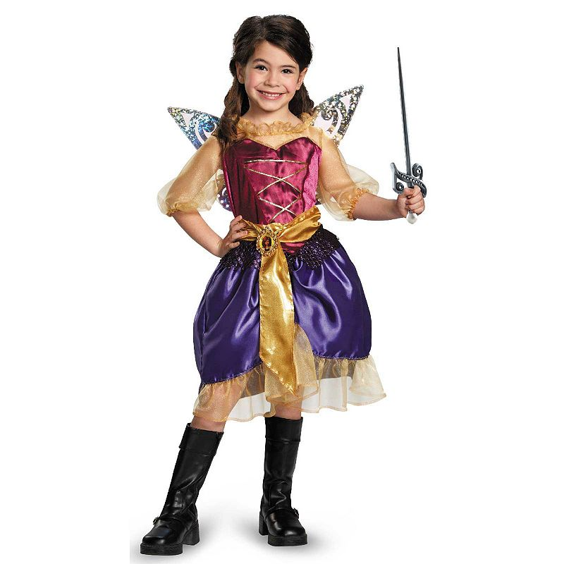 Disney Fairies Tinker Bell and The Pirate Fairy Pirate Zarina Costume - Kids