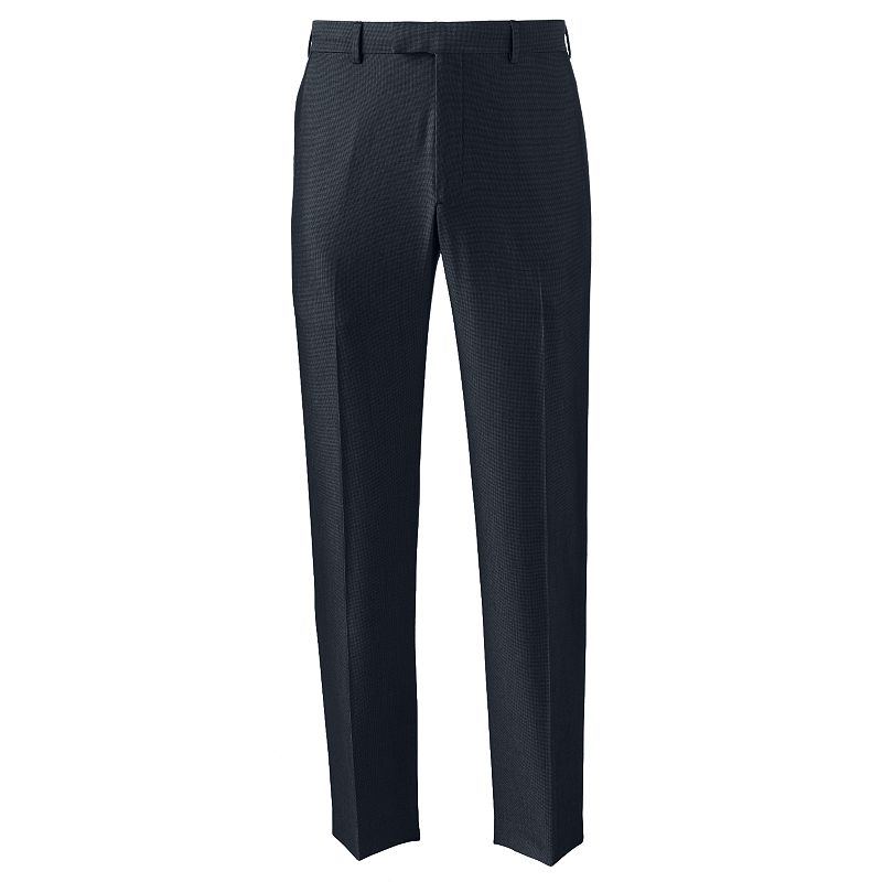 Men's Axist Silkworks Straight-Fit Pindot Dress Pants
