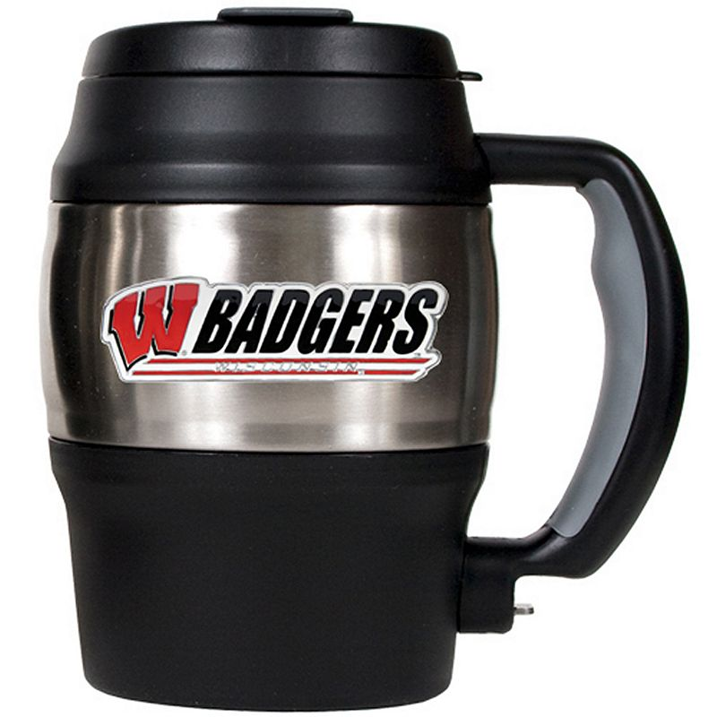 Wisconsin Badgers Stainless Steel Mini Travel Jug