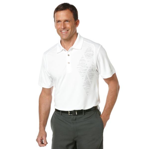 Men's Grand Slam Slim-Fit Performance Golf Polo