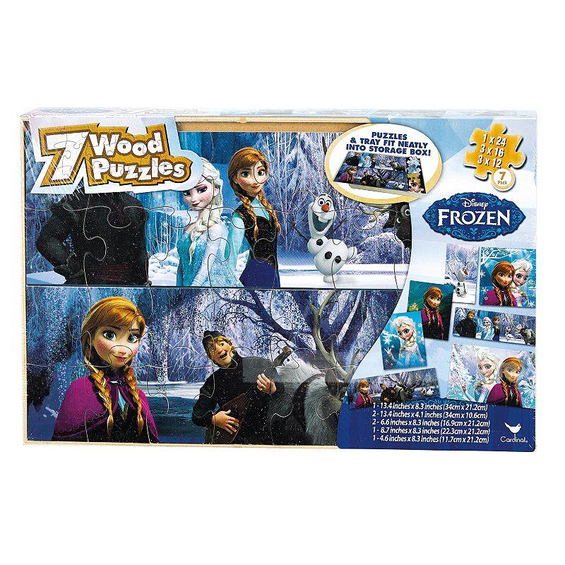 Disney Frozen 7-pk. Wood Puzzle by Cardinal