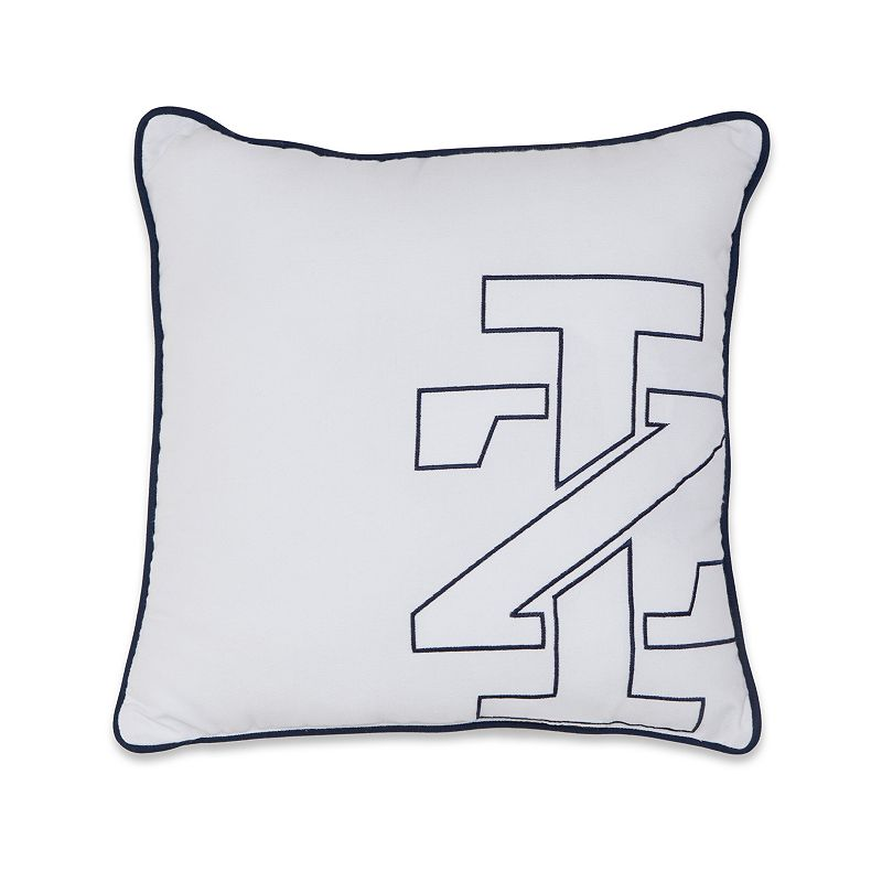 IZOD Logo Oblong Throw Pillow DealTrend