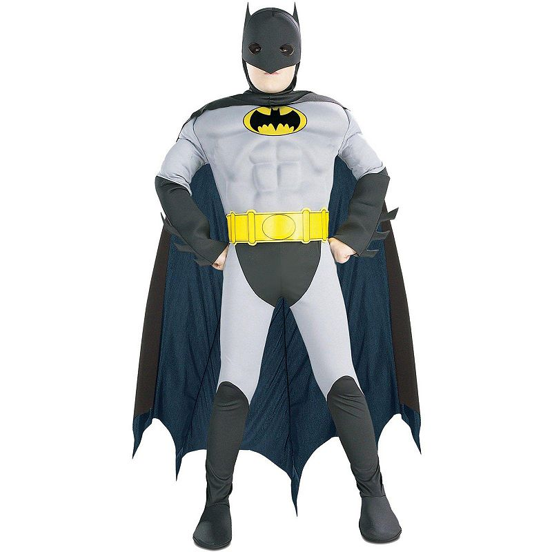 Batman Deluxe Muscle Costume - Toddler