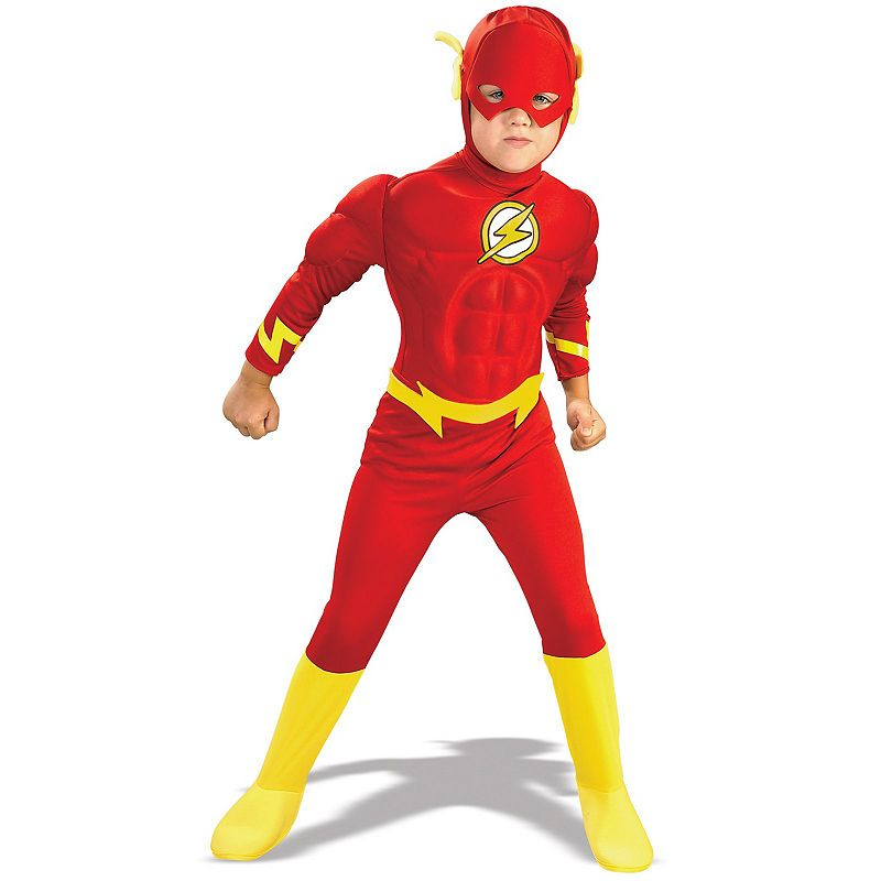 DC Comics The Flash Deluxe Muscle Costume - Toddler