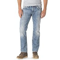 Men's Silver Jeans Nash Slim Straight Jeans